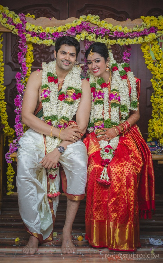 Ganesh Venkatraman Nisha Krishnan Wedding Pictures