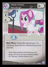 My Little Pony Vidala Swoon, Mane Manager Premiere CCG Card