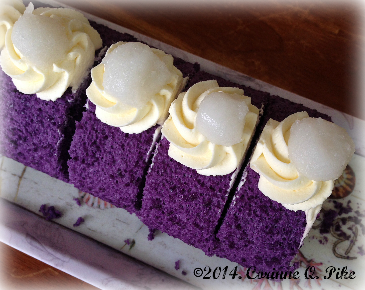 How To Bake Ube Cake