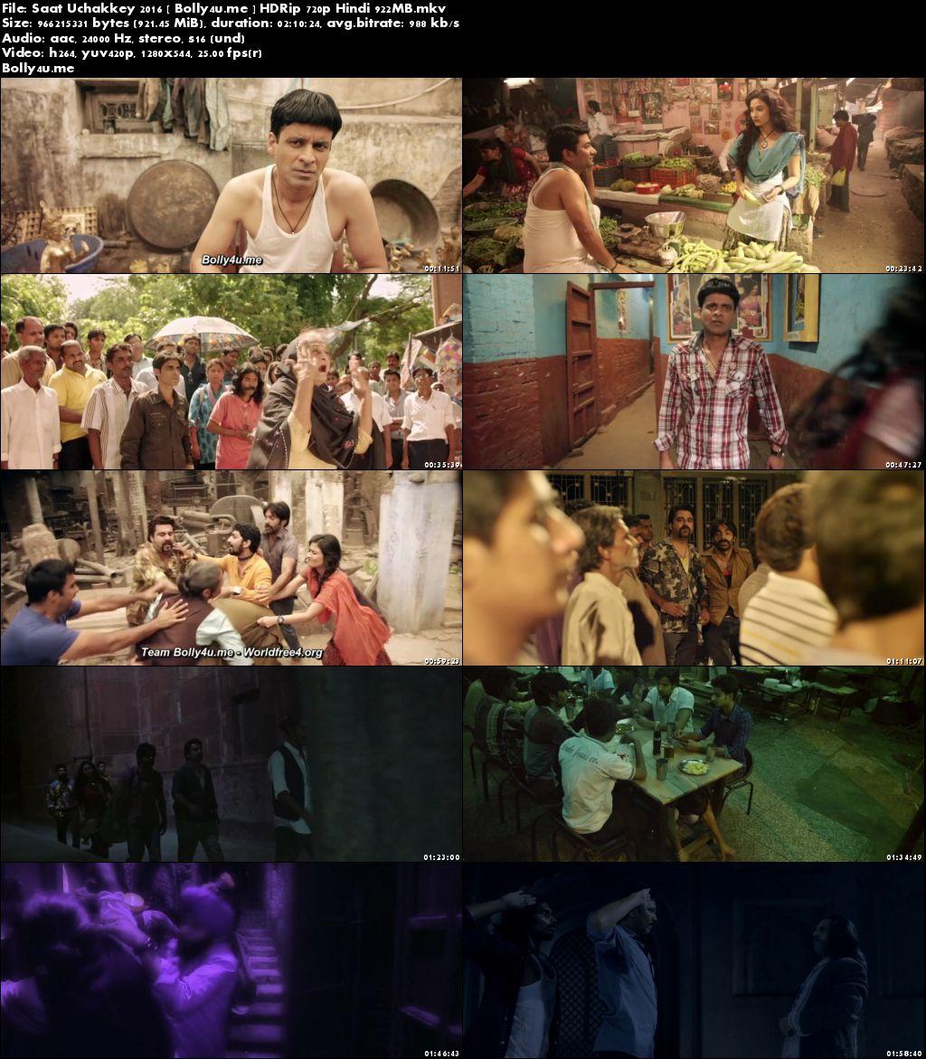 Saat Uchakkey 2016 HDRip 900Mb Full Hindi Movie Download 720p