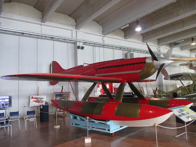 1/144 Macchi Mc.72 diecast metal aircraft miniature