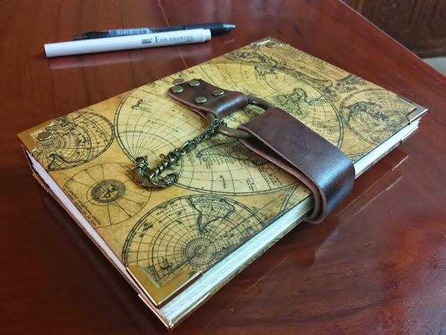 Alunsina Handbound Books Journal