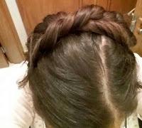 trança braided hair