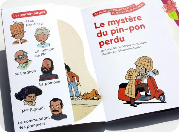 Le mystère du pin-pon perdu de Gérard Moncomble et Christophe Merlin - Milan poche Benjamin
