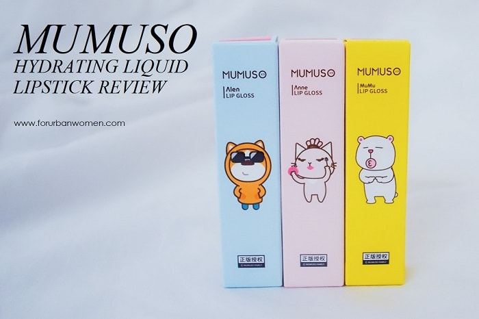MUMUSO Hydrating Liquid Lipstick Review