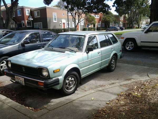 Daily Turismo 1k Cute Amp Cheap 1981 Honda Civic Wagon
