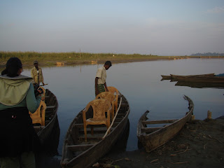 Country boat at Maguri Beel