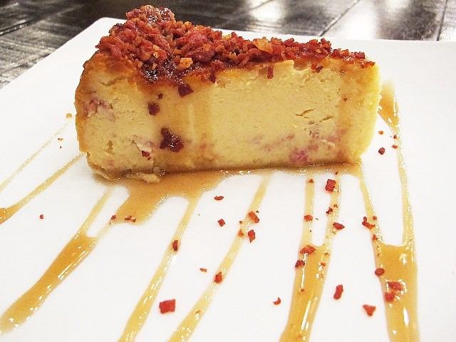 URBN Bar and Kitchen Maple Bacon Cheesecake