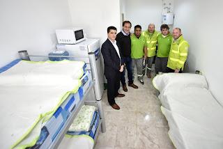 Sala del SAME que podrá asistir a 110 mil familias