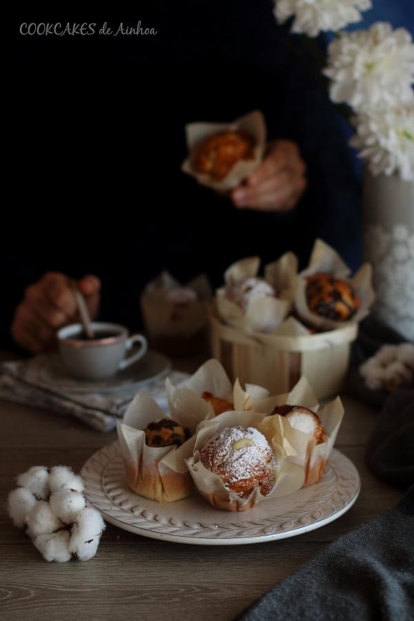 Magdalenas caseras de 4 sabores. Cookcakes de Ainhoa