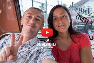 Die Wegsucher Arkadij und Katja reisen durch Indien von Kochi nach Alappuzha Weltreise