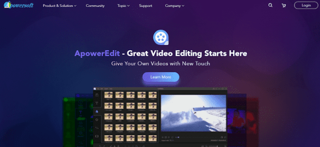 Apowersoft - 15+ Best Video Editing Software For YouTube