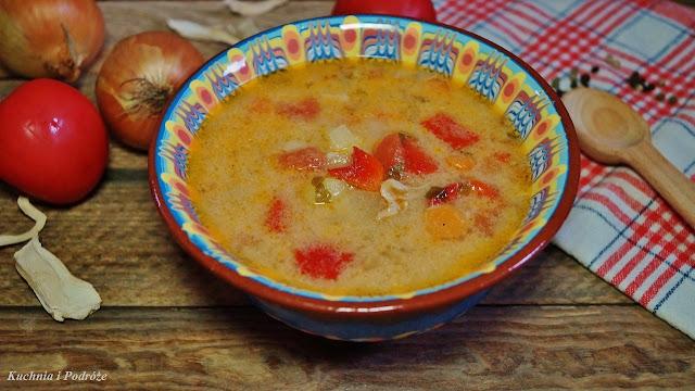 Zupa rumuńska - Ciorba de pui