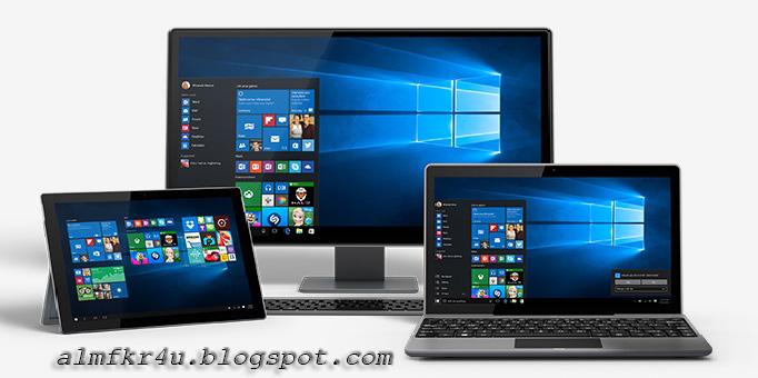 كيفية تحميل ويندوز 10 اخر اصدار باخر التحديثات نسخ اصليه من موقع ميكروسوفت الرسمي بجميع اللغات Download Windows 10 latest updates