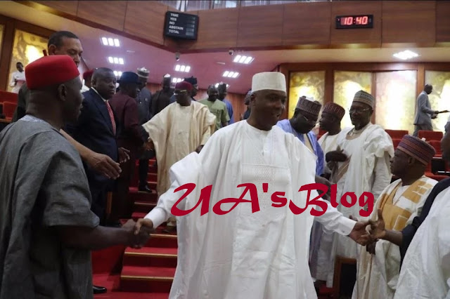 Saraki: Senators lambast APC