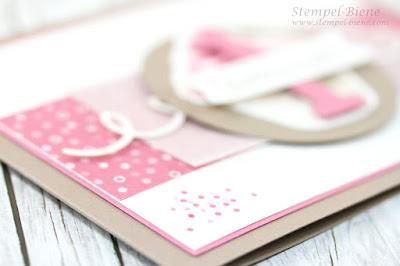 Stampin' Up! Cupcake für dich; Stampin' Up Geburtstagskarte; Karte zum 1. Geburtstag; Kinderkarte Geburtstag; Stampin' Up Recklinghausen