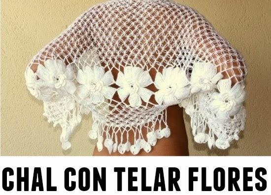 Flores con Telar de Horquilla Tutorial