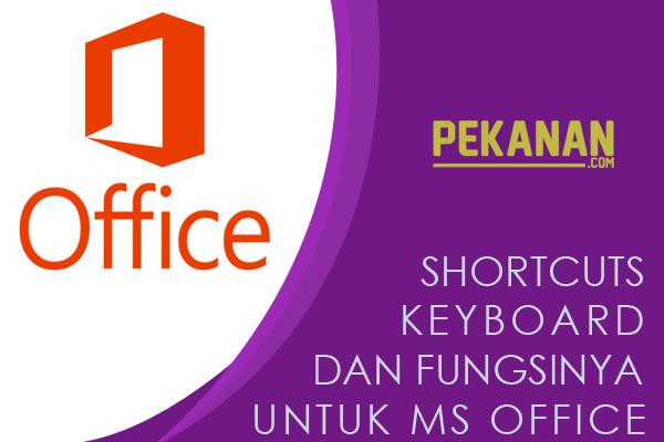 Kumpulan Shortcut Untuk MS Office Beserta Fungsinya