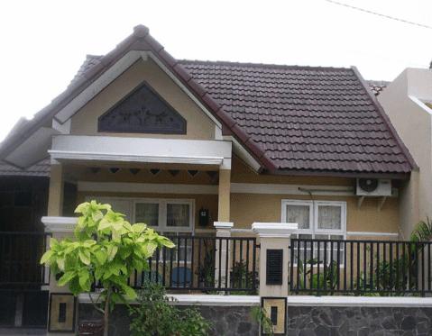 rumah kampung sederhana tapi menarik