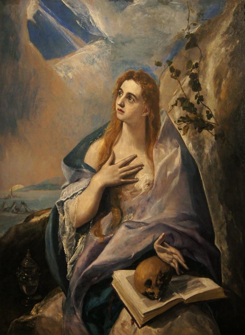 A Madalena Penitente - El Greco e suas principais pinturas ~ Maneirismo