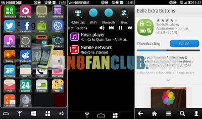Nokia Belle Extra Buttons 4 0 for Nokia N8 & Belle Free Download