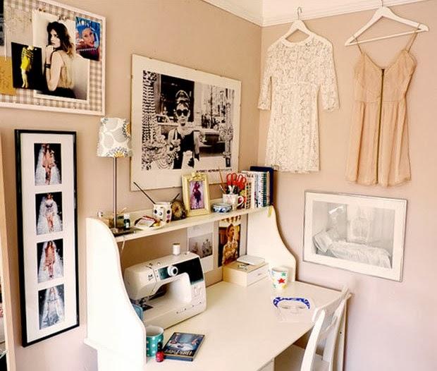 decoração quartos retrô