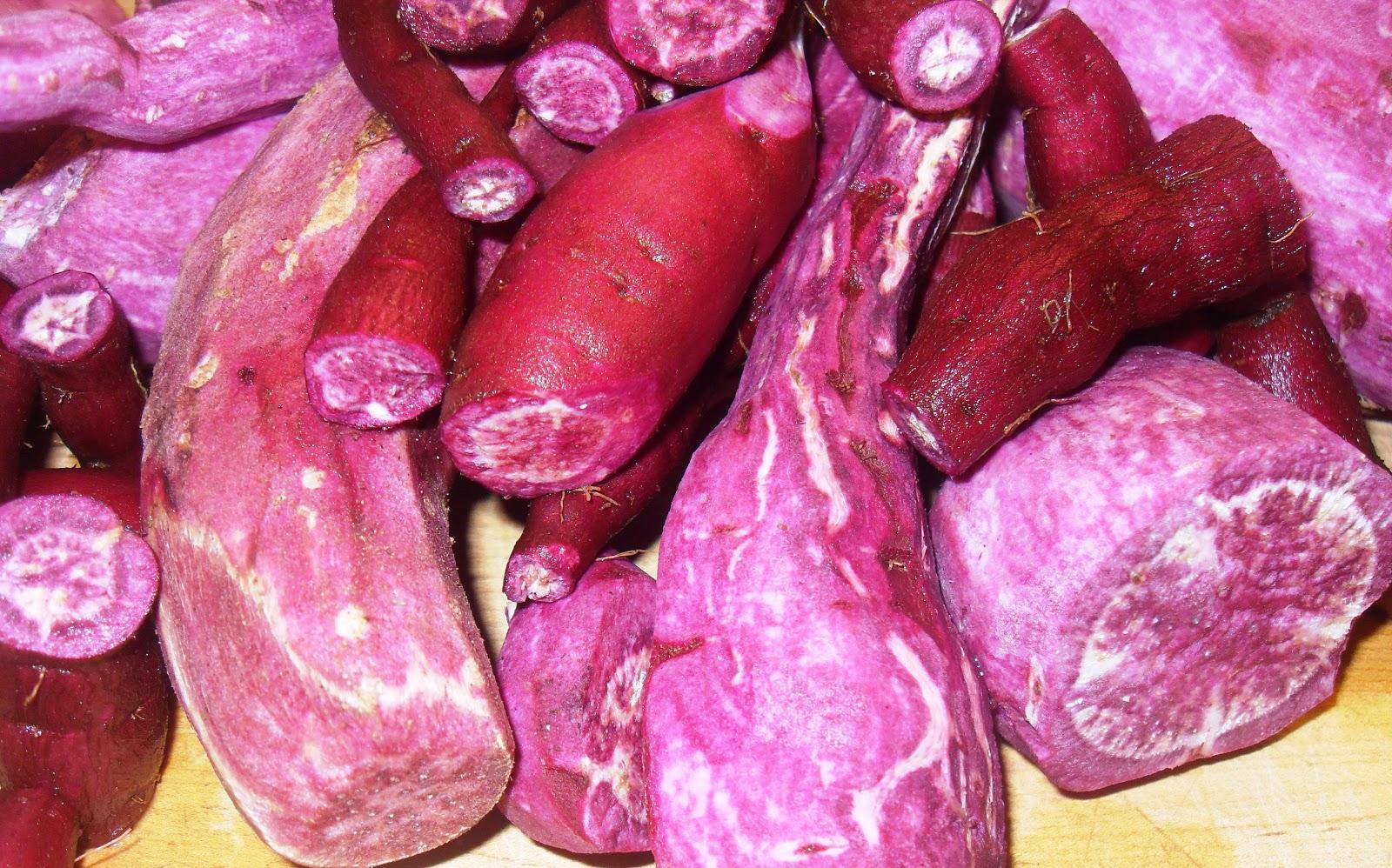 Purple Sweet Potato Vegan Cake