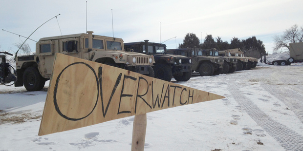 Facing orders to leave camp, Dakota Access stalwarts brace for police crackdown