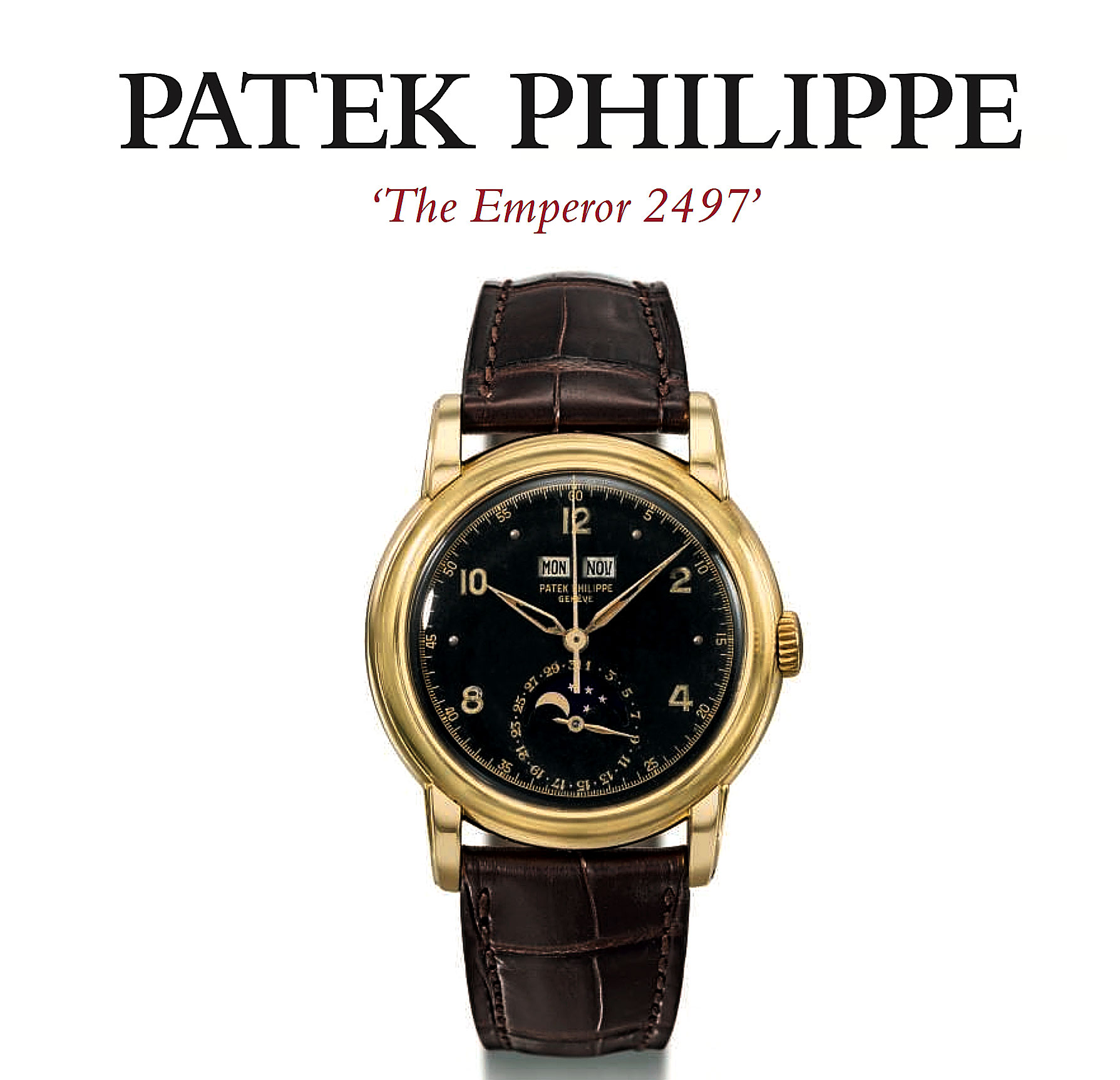 Emperor Haile Selassie Patek Philippe Reference 2497