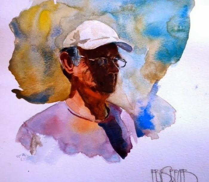 Акварельная живопись. Erik Speyer