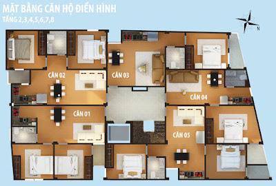 thiết kế chung cư mini lạc long quân