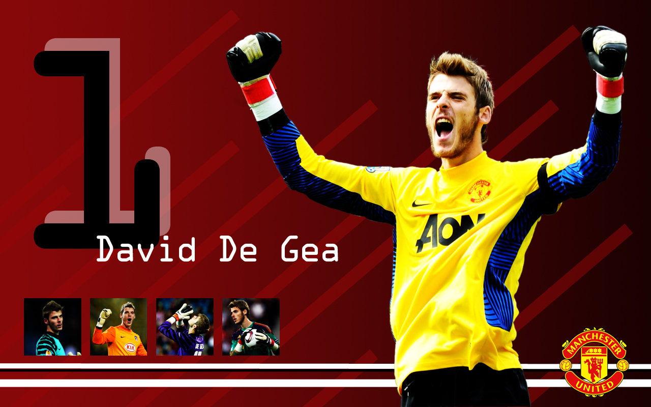 All Soccer Playerz HD Wallpapers: David De Gea Latest HD