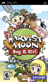 Harvest Moon Boy and Girl PSP ISO High Compress
