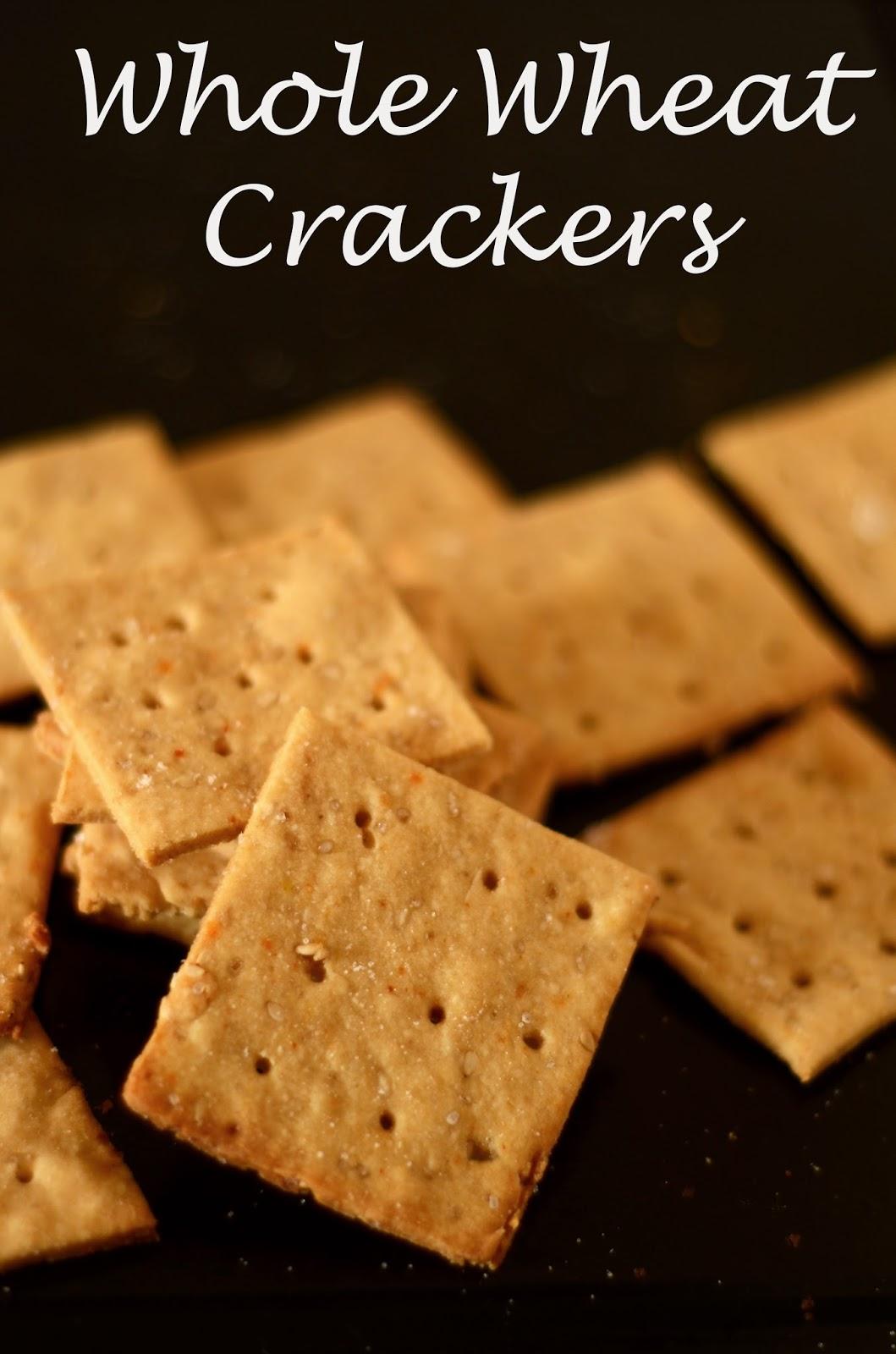 Kuch Pak Raha Hai: Whole Wheat Crackers