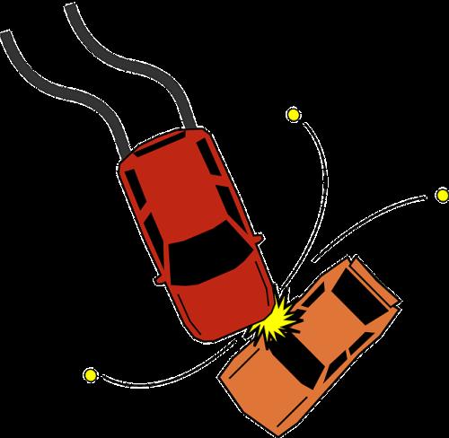 Acidente, colisão. #PraCegoVer