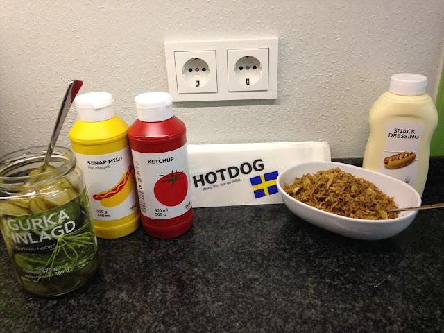 Ikea Hotdogs für zu Hause