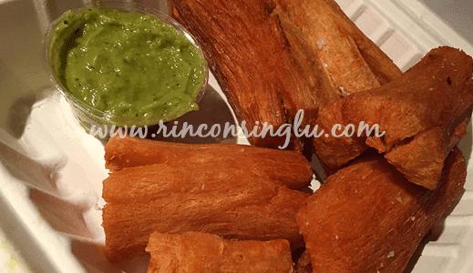 yuca frita sin gluten anauco