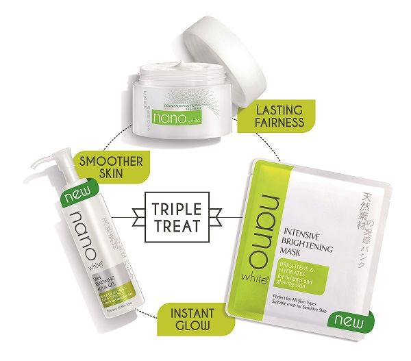 The Nanowhite S Triple Treat Has A New Skin Brightening Technology Which Is By Neutralizing Harmful Free Radicals Making These Wonders Hen Are Three