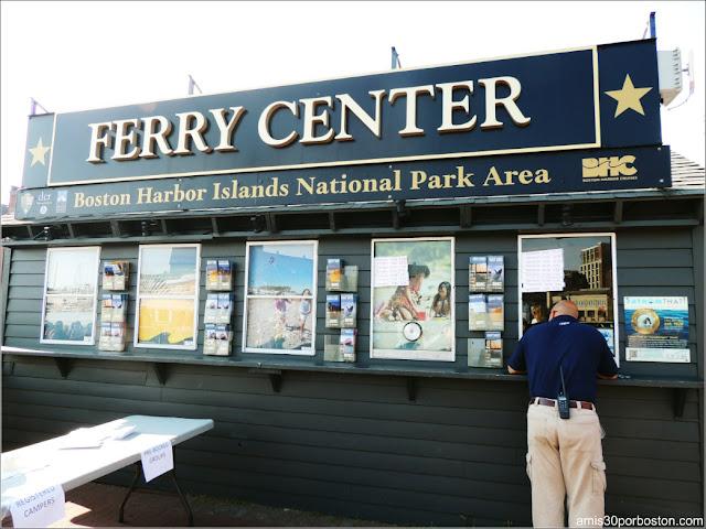 Boston Harbor Islands: Ferry Center