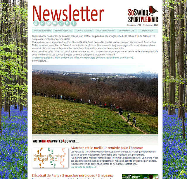 Newsletter fev / mars 2019