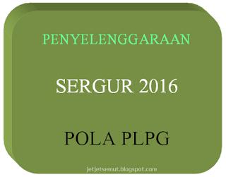 Penyelenggaraan Sergur Pola PLPG