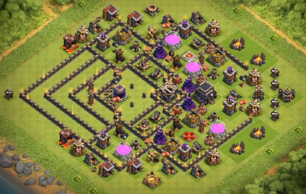 game is life best town hall 9 base by anymouse village mode clash