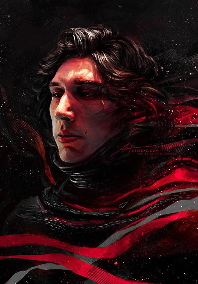 Alice X. Zhang - Asian Star Wars Art on YellowMenace.net