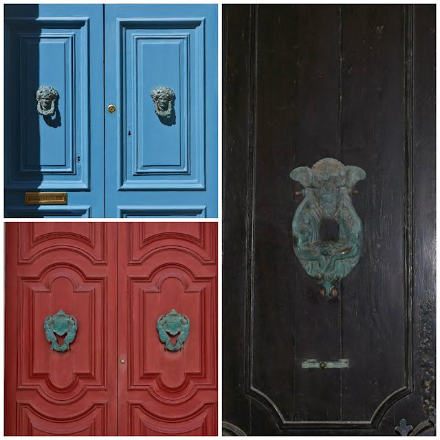 fronty drzwi na Malcie, kolorowe detale