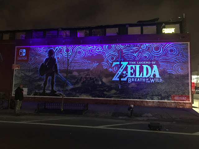 Nintendo divulga como foi criado o mural no Brooklyn de Zelda: Breath of the Wild