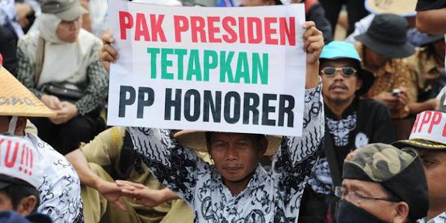 Pesan Guru Honorer Kepada Presiden RI Joko Widodo