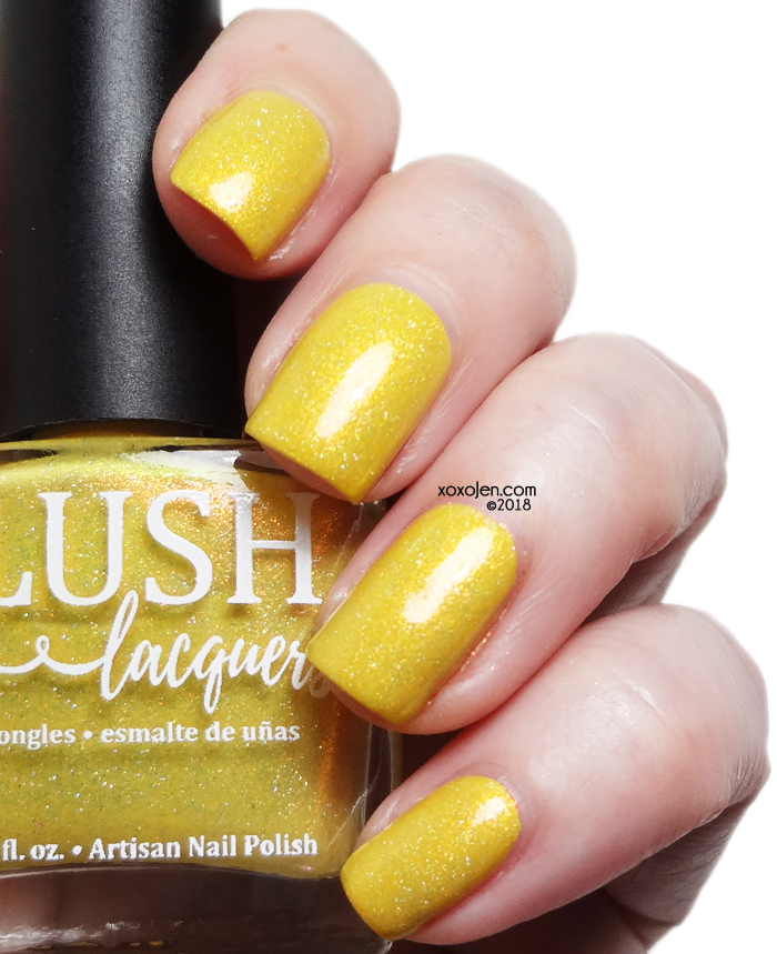 xoxoJen's swatch of Blush Number One Bee Girl