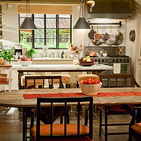 It's Complicated farmhouse kitchen