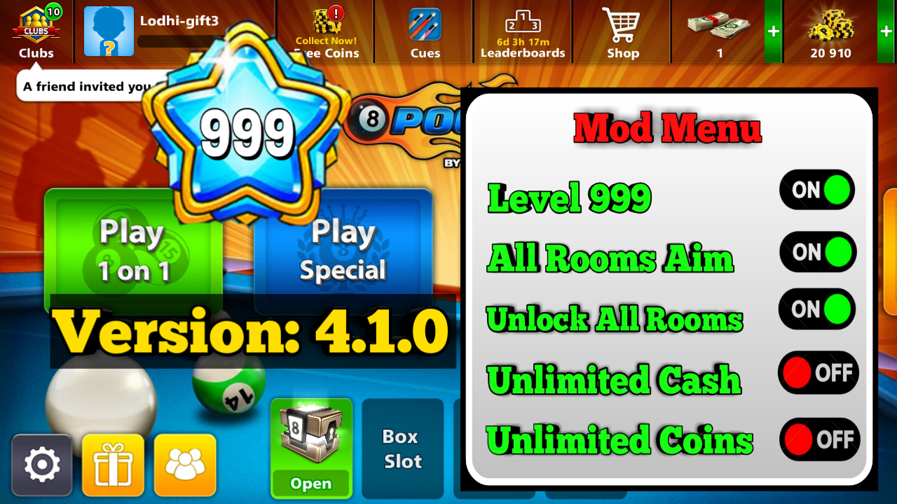 8 ball pool cue hack free download
