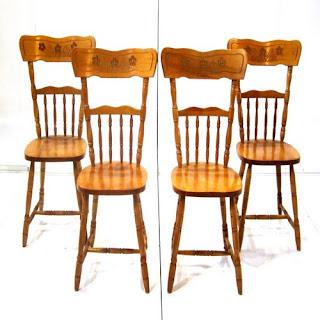 Maple Kitchen Chairs